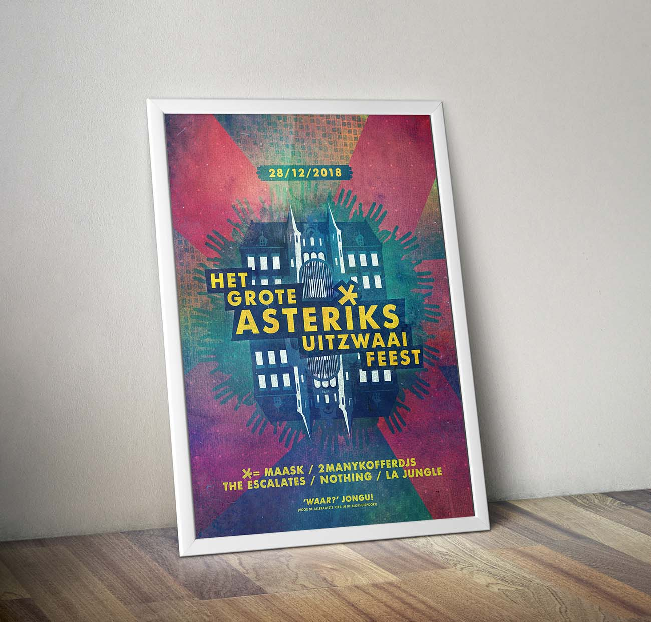 Poster Frame PSD MockUpbhp KL
